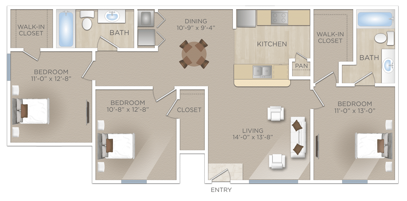 Three-Bedroom-Apartment-NORTHWEST-SAN-ANTONIO