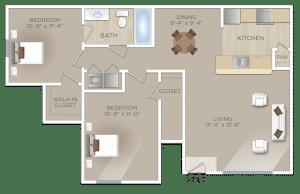 Two-Bedroom-Apartment- SAN-ANTONIO