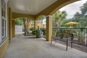 Three Bedroom Apartments for rent in San Antonio, TX - Clubhouse Entrance Patio