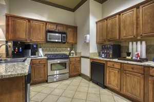 Three Bedroom Apartments for rent in San Antonio, TX - Clubhouse Kitchen & Coffee Bar