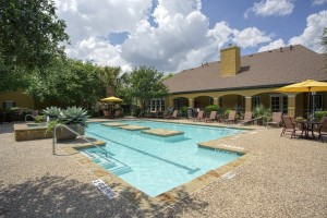 Two Bedroom Apartments for rent in San Antonio, TX - Pool & Clubhouse (3)