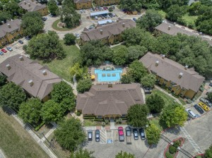 1 Bedroom Apartments for rent in San Antonio, TX - Aerial View (2)