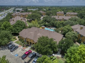 2 Bedroom Apartments for rent in San Antonio, TX - Aerial View Clubhouse