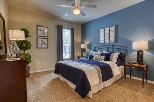 One Bedroom Apartments for rent in San Antonio, TX - Model Bedroom