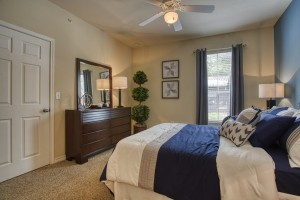 One Bedroom Apartments for rent in San Antonio, TX - Model Bedroom (2)