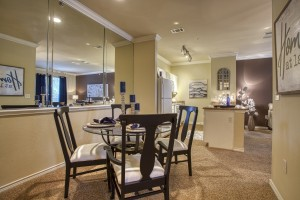 One Bedroom Apartments for rent in San Antonio, TX - Model Dining Room
