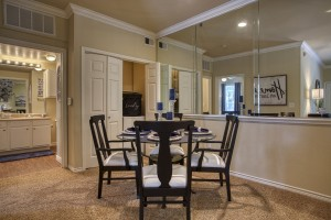 One Bedroom Apartments for rent in San Antonio, TX - Model Dining Room Area