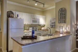 One Bedroom Apartments for rent in San Antonio, TX - Model Kitchen