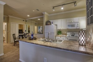 One Bedroom Apartments for rent in San Antonio, TX - Model Kitchen & Dining Room