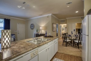 One Bedroom Apartments for rent in San Antonio, TX - Model Kitchen & Dining Room (2)
